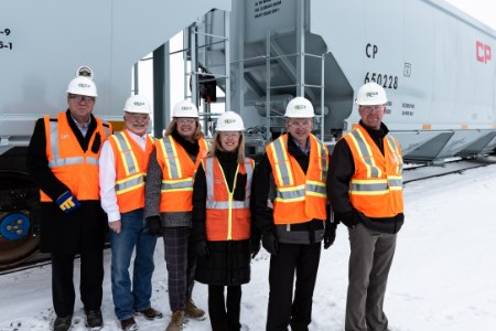 Canadian Pacific unveils high efficiency product train