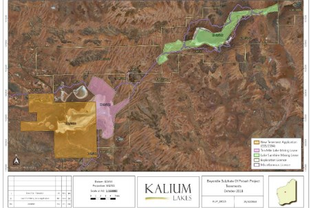 Kalium Lakes provides update on Beyondie SOP project