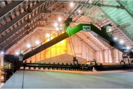 FAM supplies portal reclaimer to Garabogaz fertilizer plant