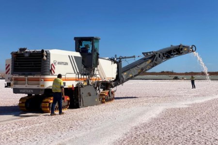 Salt harvester commissioned at Beyondie SOP project