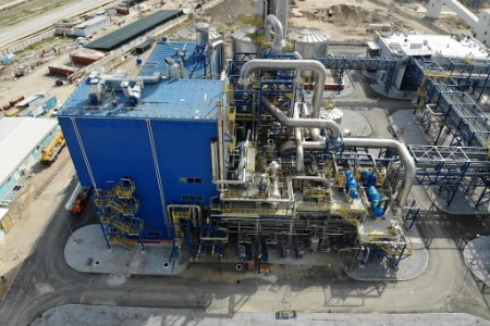Navoyazot nitric acid plant brought onstream