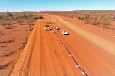 Work on gas pipeline begins at Beyondie SOP project