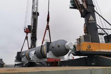 Stamicarbon ships urea high pressure equipment for Volgafert