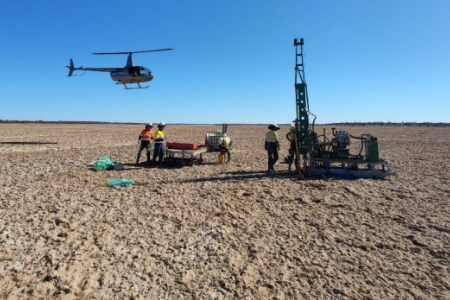 In-fill gravity survey begins at Lake Throssell project