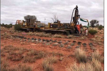 Trigg Mining completes successful air-core drilling programme at Lake Throssell
